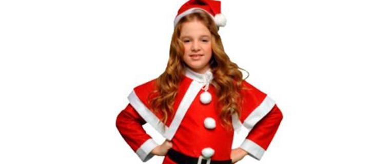 女児用サンタ衣装